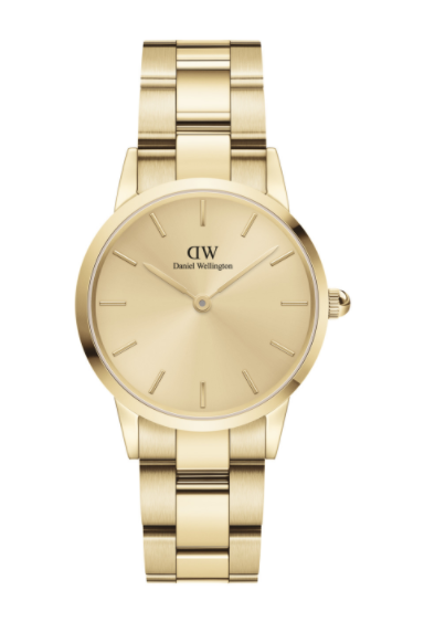 DANIEL WELLINGTON推出全新黄金色圣诞限定腕表