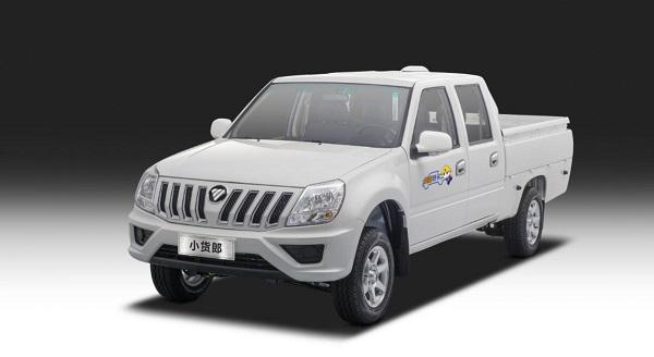 福田皮卡場景化車系再添新丁 薩普轎卡將要上市