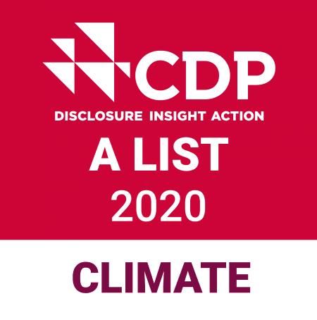 """横滨橡胶连续第二年、第三次在""""CDP气候变化报告2020""""中获得""""A""""类评级"""