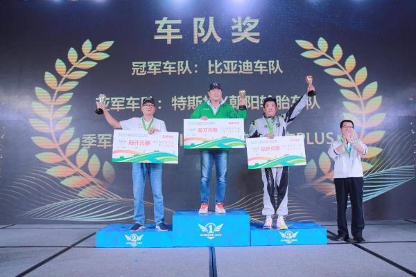 2020海南国际新能源汽车拉力赛暨中国新能源汽车拉力锦标赛总决赛海口落幕 大赛奖项已花落各家
