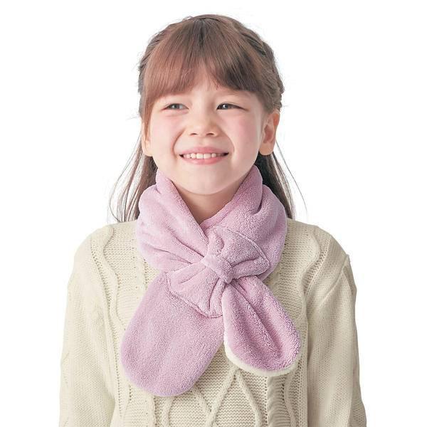 暖萌的秋冬百搭单品,日本千趣会宝宝围巾