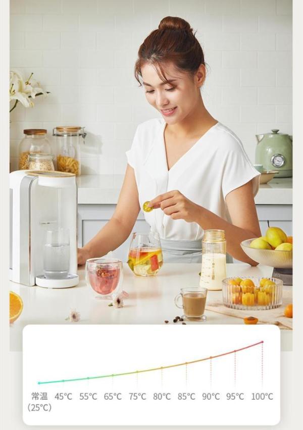 """即热饮水机""""新物种"""",鸣盏即热茶饮机泡茶饮水二合一,澎湃来袭"""