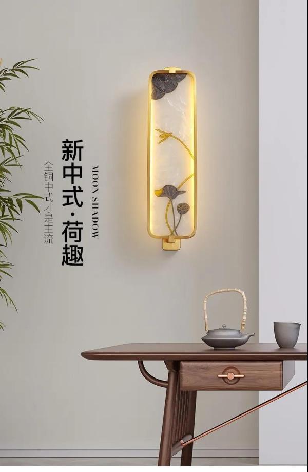 月影家居珐琅彩系列新品推荐,感受中式铜灯的魅力