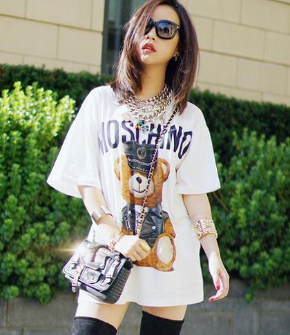 Moschino小熊卫衣上线寺库,演绎新的潮流与风尚