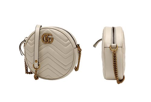 时尚复古感拉满,寺库上线Gucci GG Marmont系列圆形单肩包