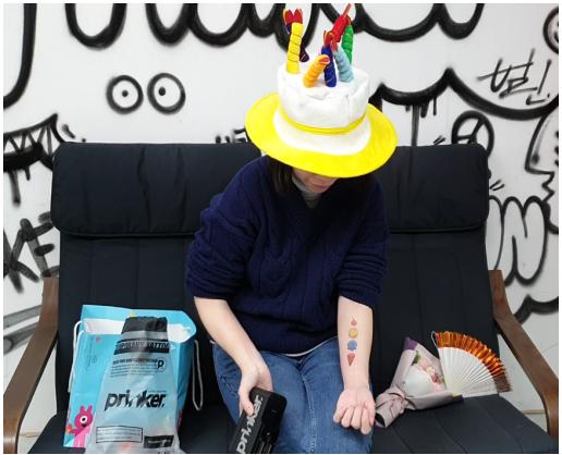 新年到,智能手持打印机Prinker(普瑞客)让你的新年更加多彩!