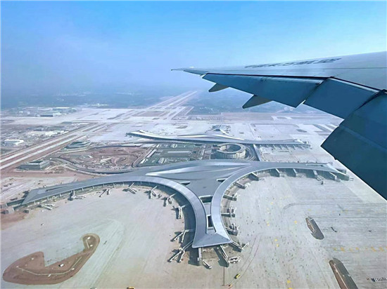 东航B777机型圆满完成成都天府机场PBN程序验证试飞