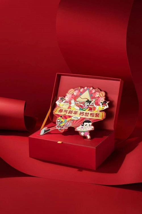 骨气新年 钙世相聚——钙尔奇联手上美影厂推出新年礼盒