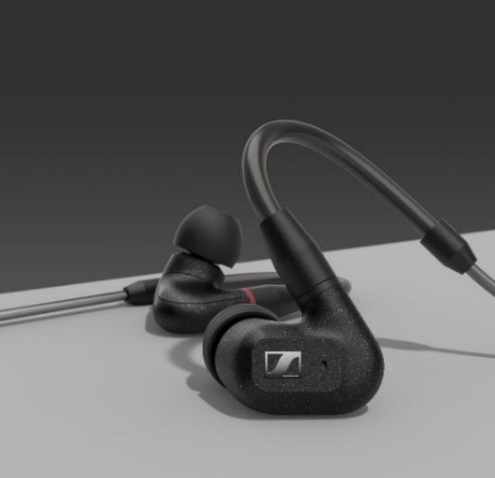 细腻之声,萦绕耳畔 森海塞尔全新IE 300入耳式耳机,随时随地享受高保真聆听体验