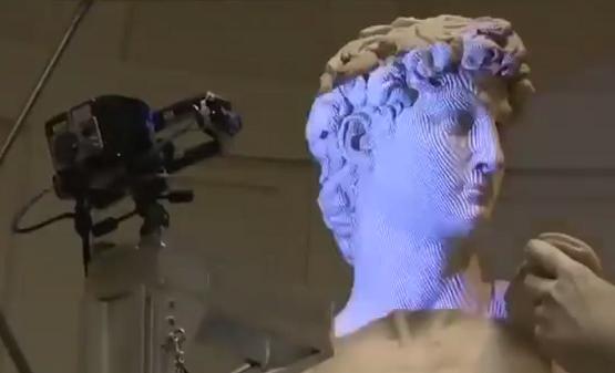 海克斯康数字扫描技术—这可能是米开朗基罗《大卫》最精确的复制品