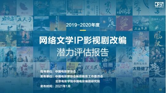首届网络文学影视剧改编大数据预告发布《诡秘》等46个潜在IP进入榜单