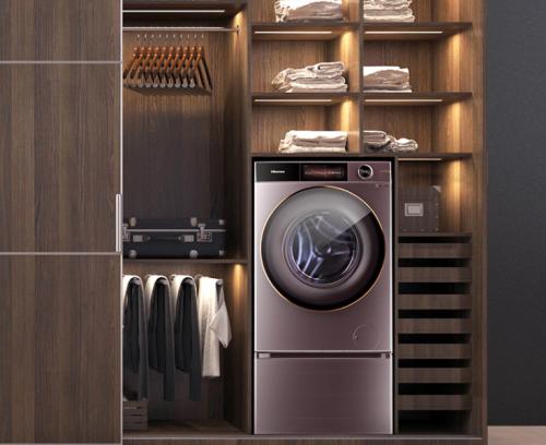 《温暖的抱抱》联合推广合作伙伴,海信蒸烫洗衣机陪你温暖治愈!