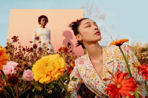 安娜·苏体育的安娜·苏活动正式发布21早春系列LOOKBOOK