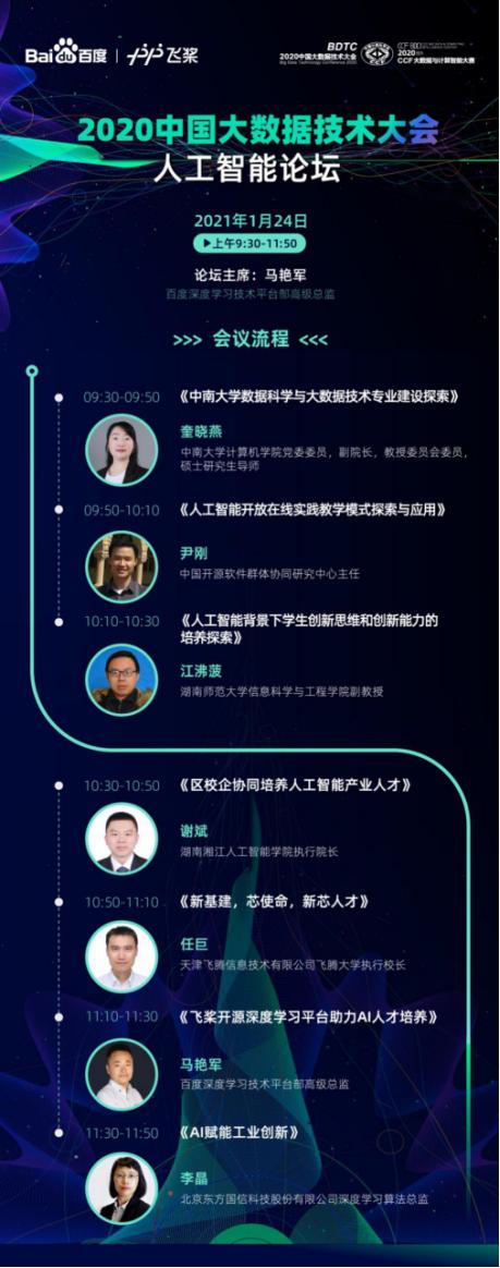 """""""决战""""橘子洲头!百度飞桨支持2020 CCF BDCI自主平台赛道"""