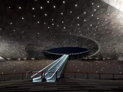 蒂森电梯中国区最长、最高步道亮相太原植物园