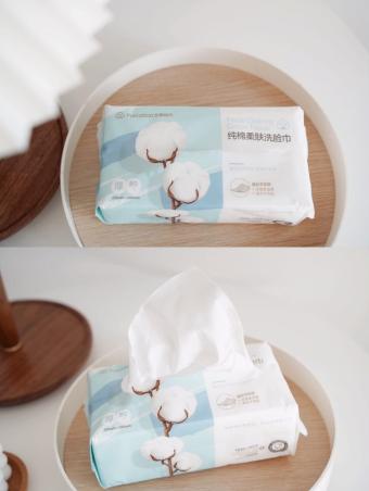 新年好物安利,全棉时代纯棉洗脸巾