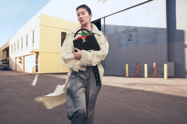 刘亦菲成为LV品牌代言人,《花木兰》之后霸气再亮相