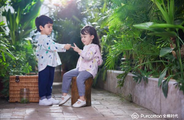 把自然穿在身上,全棉时代童装春季新品上市