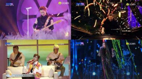 五月天刷新在线演出预约人数纪录!QQ音乐×TME live跨年派对圆满收官