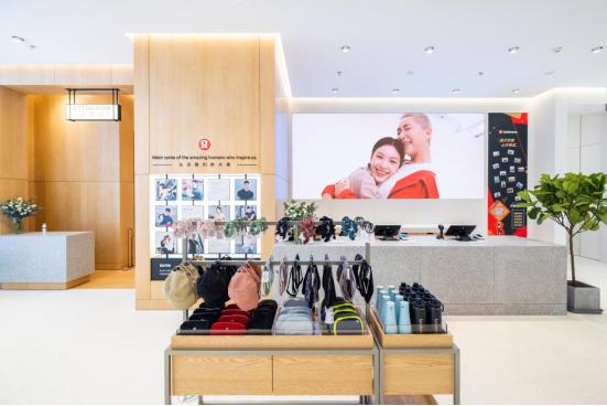 兴随心动 热汗荟聚 lululemon北京大兴荟聚门店正式开业