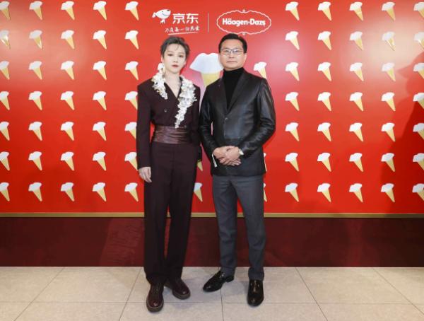 """哈根达斯携手品牌大使刘雨昕 在新年与你""""唇情巧意宠一起"""""""