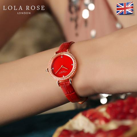"Lola Rose不够""红""?全新小红表上市,成就春节必备单品!"