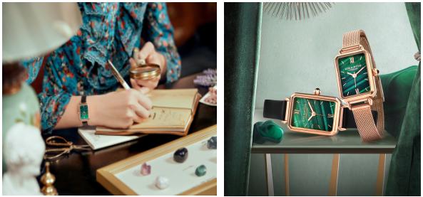 萝拉·罗斯不止有一块绿色的小手表 这些宝石手表也值得关注