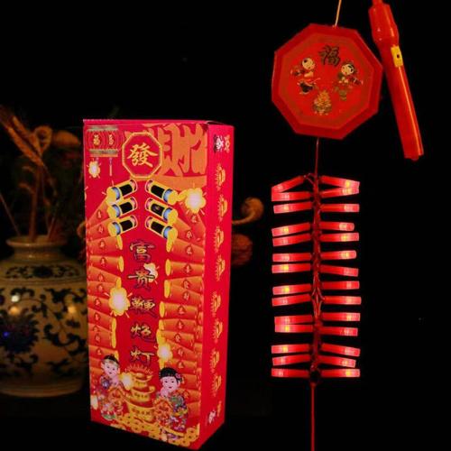 电子鞭炮跻身春节新标配 记忆里的热闹年又回来了