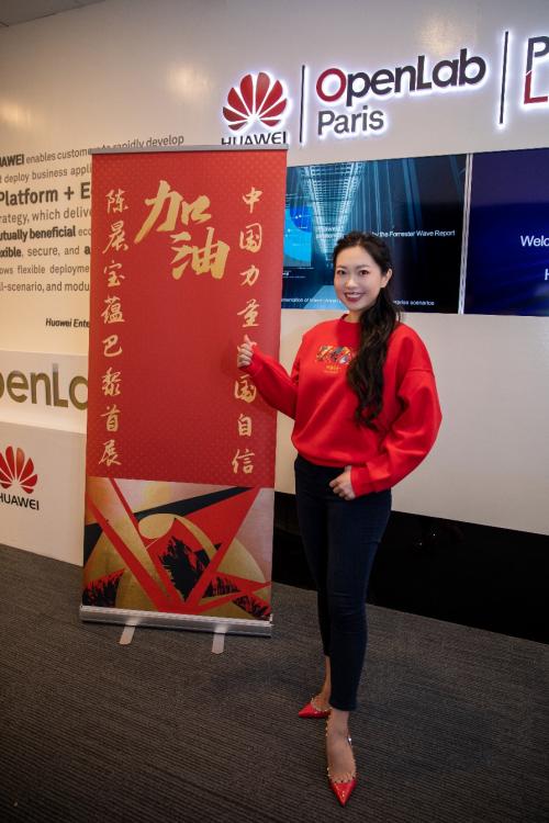洪妙绘画黄金——中国女孩陈晨保云成功举办首届海外个展