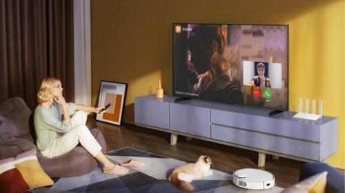 新年换台华为智能屏幕S系列满足教育娱乐交流