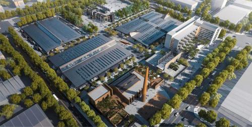 景洪光电玻璃赋予北京设计城前卫的建筑设计美学风格和商业魅力