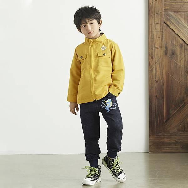 春秋童装外套推荐,这件日本千趣会防风外套太可了