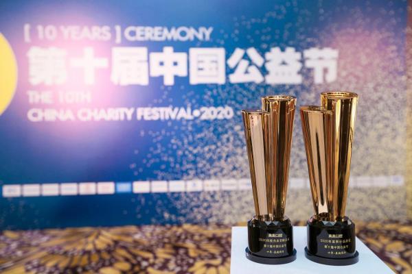 梅骜牙科荣获2020年责任品牌奖和2020年抗疫突出贡献奖企业双奖