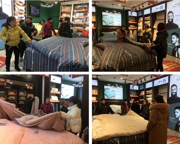 解决睡眠痛点,提升生活品质 Mr.7栖先生&故园家纺怀化专卖店盛装开业