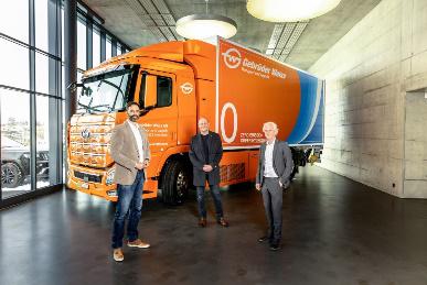 吉布达·韦斯成功完成第一次氢动力卡车测试