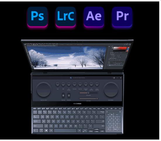 93%屏占比+高色域防蓝光 高效生产力工具首选灵耀X双屏