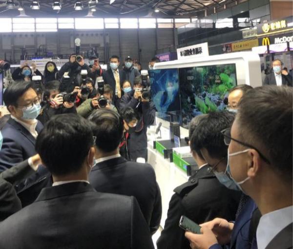 2021 MWC TVU 5G+8K传输方案亮相中国联通展区