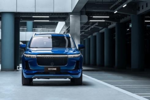 豪华中大型SUV理想ONE,1月新能源销量第一名!