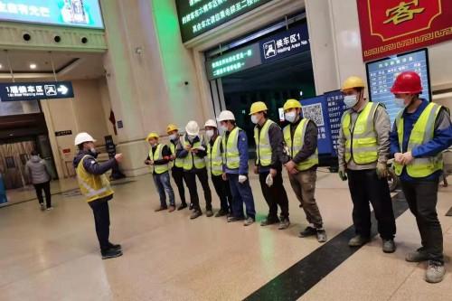 决战春运,旧梯改造迎新年丨蒂森电梯助力汉口火车站第三方扶梯改造