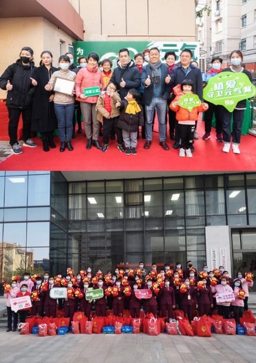 """知爱携手上海街道办事处和《信息时报》推出""""知爱在行动""""主题"""