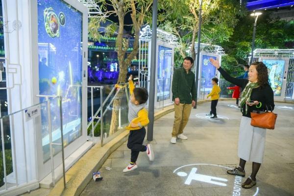 春节旅游好去处!珠海首个行浸式光影互动体验横琴开玩