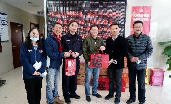 多力新春慰问上海一线警卫人员