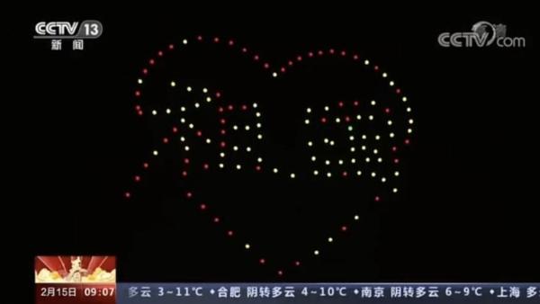 科创赋能!海南无人机科技企业新春表演荣登央视新闻报道