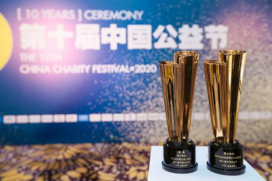 坚持温暖公益路,易才获第十届中国公益节两项大奖
