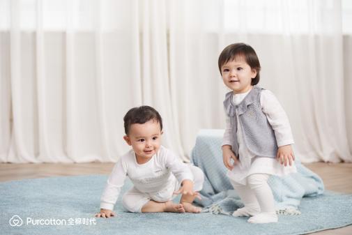 全棉时代2021春季婴幼儿新品上市 温暖呵护新生