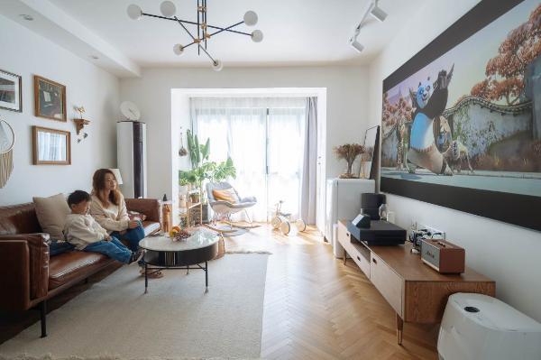 激光电视:体验代际沉浸式家庭音频和视频系统
