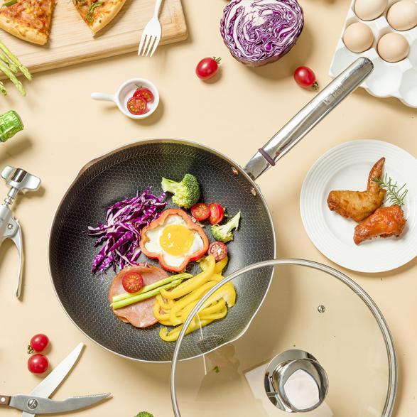 蜂窝技术奠定品质基石,康巴赫专研品质厨具