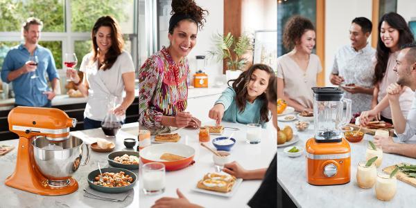 KITCHENAID 推出 2021 年度色彩:焦糖蜜 灵感来自全世界对相聚的渴求