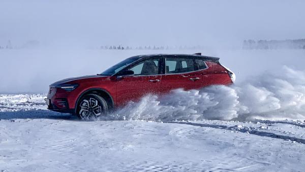 天际汽车冰雪挑战之旅,电力四射