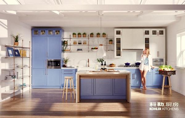 科勒厨房 凌环系列展现新古典主义之美